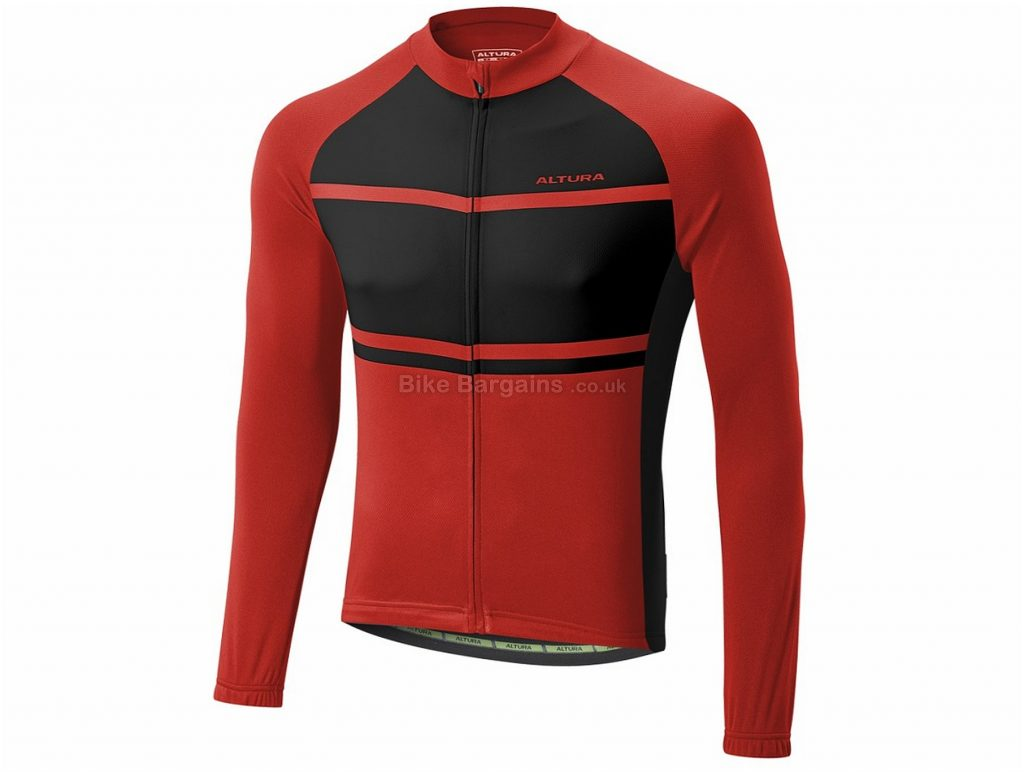 Altura Airstream 2 Long Sleeve Jersey 2017 XXL, Red, Black, White, Long Sleeve