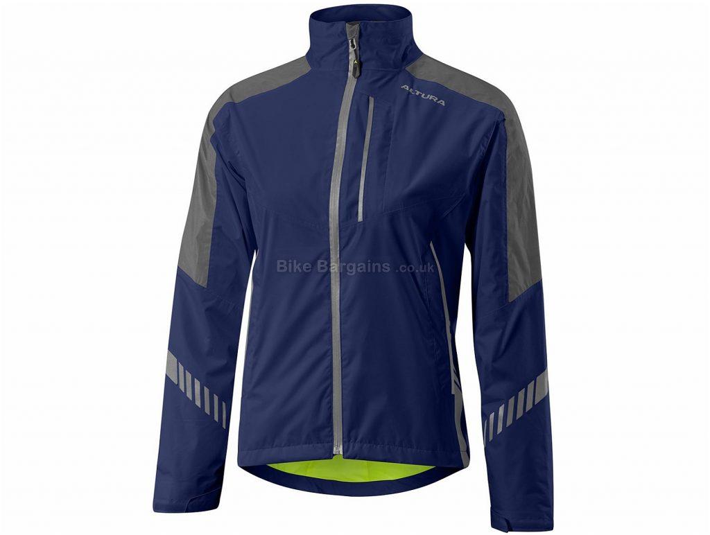 Altura Ladies Night Vision 3 Waterproof Jacket 8, Blue, Long Sleeve