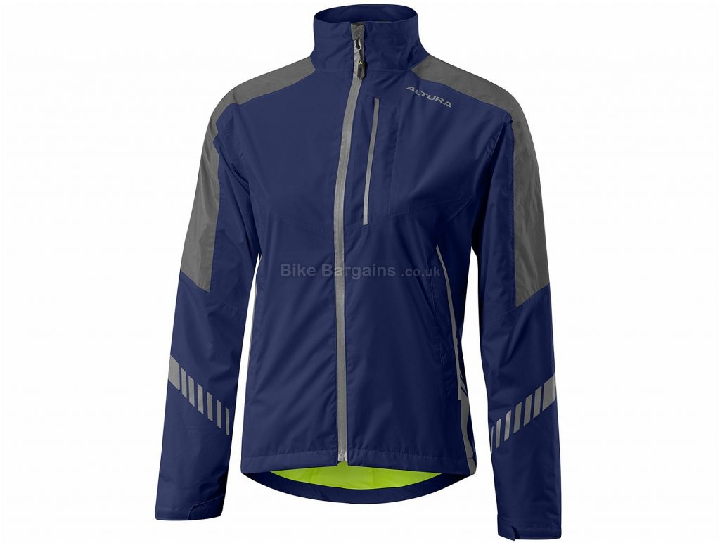 Altura Ladies Night Vision 3 Waterproof Jacket 14 - 8,10,12 cost extra, Blue, Yellow, Pink, Long Sleeve