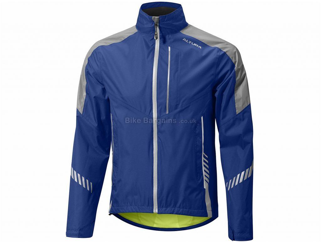 Altura Night Vision 3 Waterproof Jacket S, Blue, Yellow, Long Sleeve