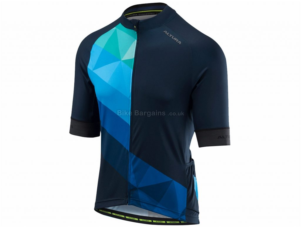 Altura Peloton Short Sleeve Jersey 2018 S,XXL, Blue, Red, Black, Yellow, Purple, Short Sleeve