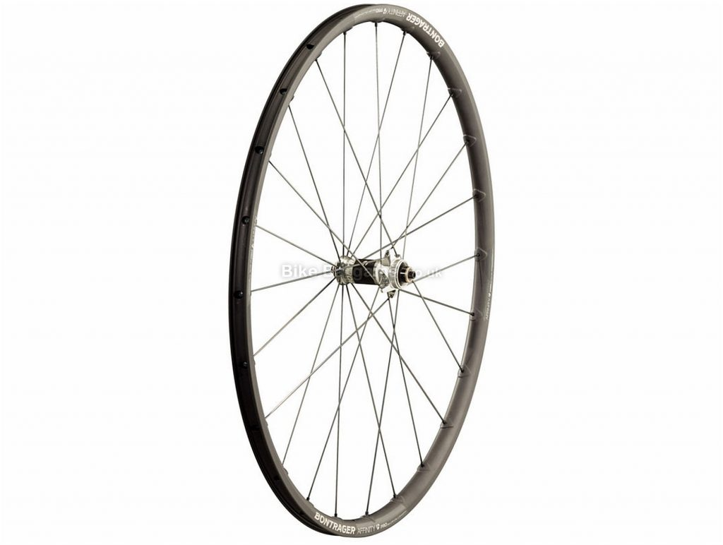 Bontrager Affinity Pro TLR Disc Road Front Wheel 700c, Black, Disc, Alloy, 705g