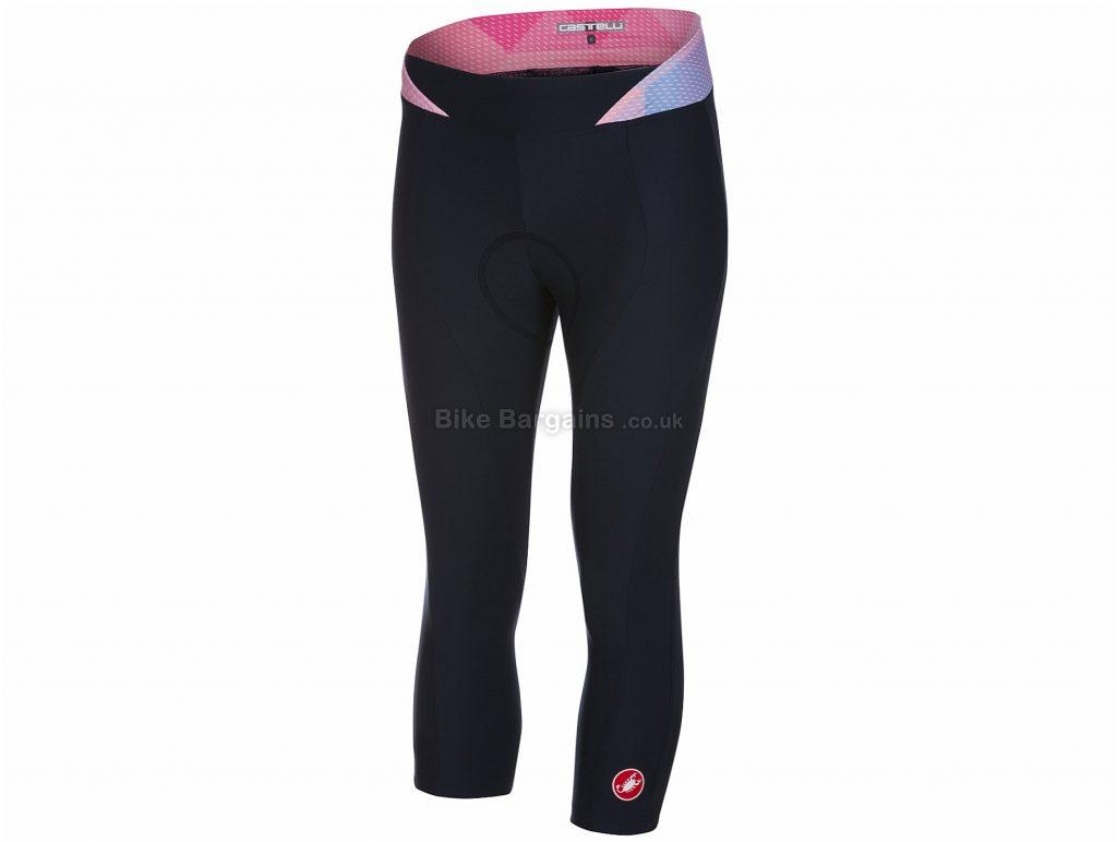 Castelli Ladies Alba Knicker Tights XS, Blue, Pink