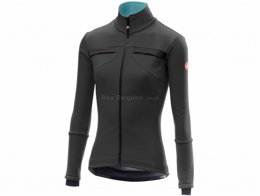 Castelli Ladies Dinamica Jacket 2018 M, Blue, Long Sleeve