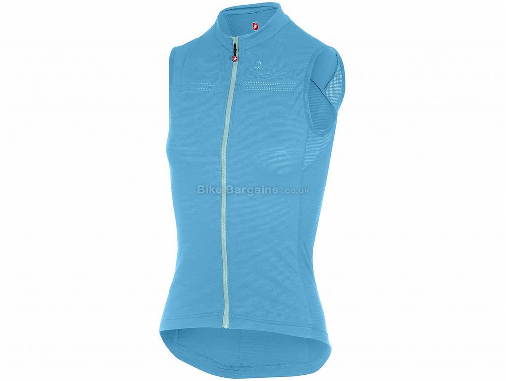 Castelli Promessa Sleeveless Jersey XS, Blue, Sleeveless, 99g