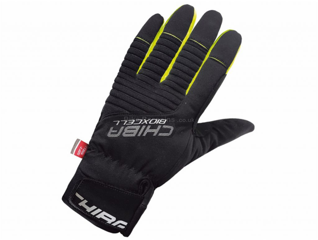 Chiba Bio X Cell Winter Waterproof Gloves S, Black, Full Finger