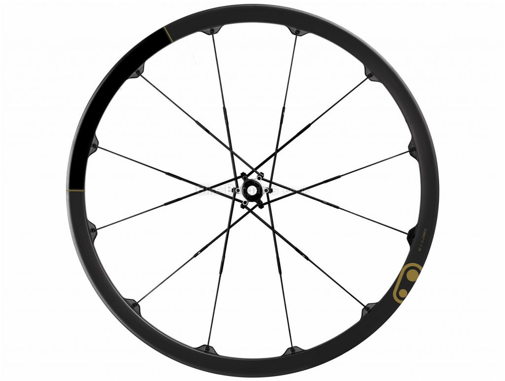 "Crank Brothers Cobalt 11 Boost Carbon MTB Wheels 27.5"", Black, Gold, Boost, Carbon, Alloy, Disc, 11 Speed, 1.45kg"