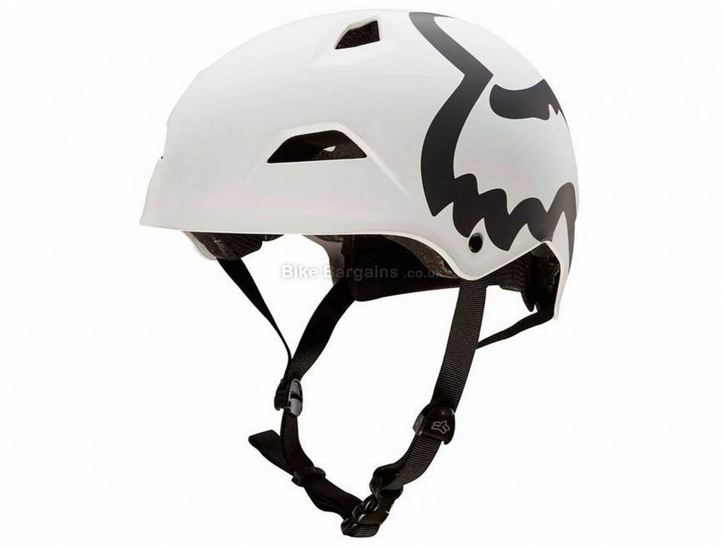 Fox Flight Eyecon Hardshell Helmet M, White, 8 vents, 830g