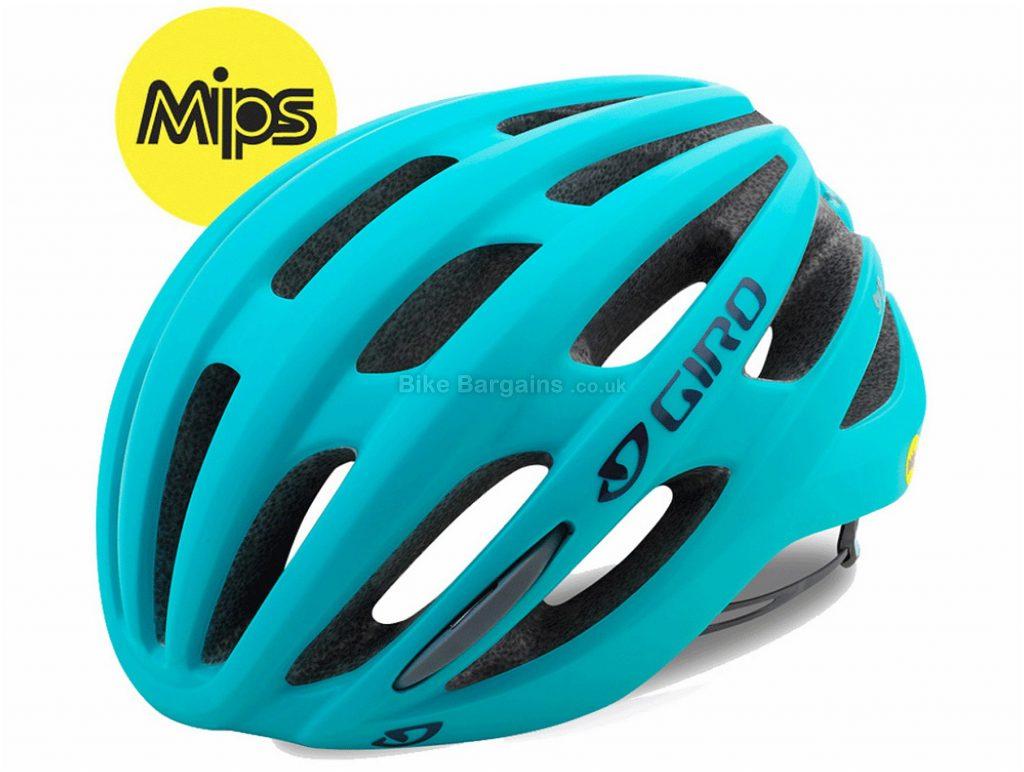 Giro Saga MIPS Ladies Road Helmet S, Turquoise, 22 vents, 240g
