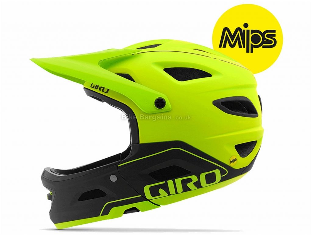 Giro Switchblade MIPS Full Face MTB Helmet 2018 L, Brown, Green, Turquoise, 20 vents, 1120g