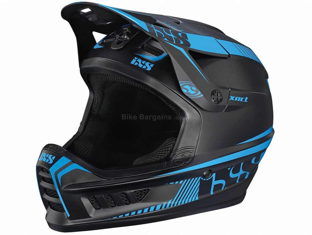 IXS Xact Full Face MTB Helmet 2018 XS, Full Face, Blue, Red, Black, Green, White, 20 vents, 1007g