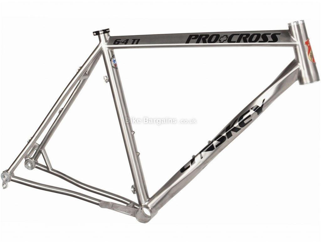 Lynskey ProCross Titanium Disc Cyclocross Frame 2018 53cm, Silver, Titanium, Disc Brakes, 700c