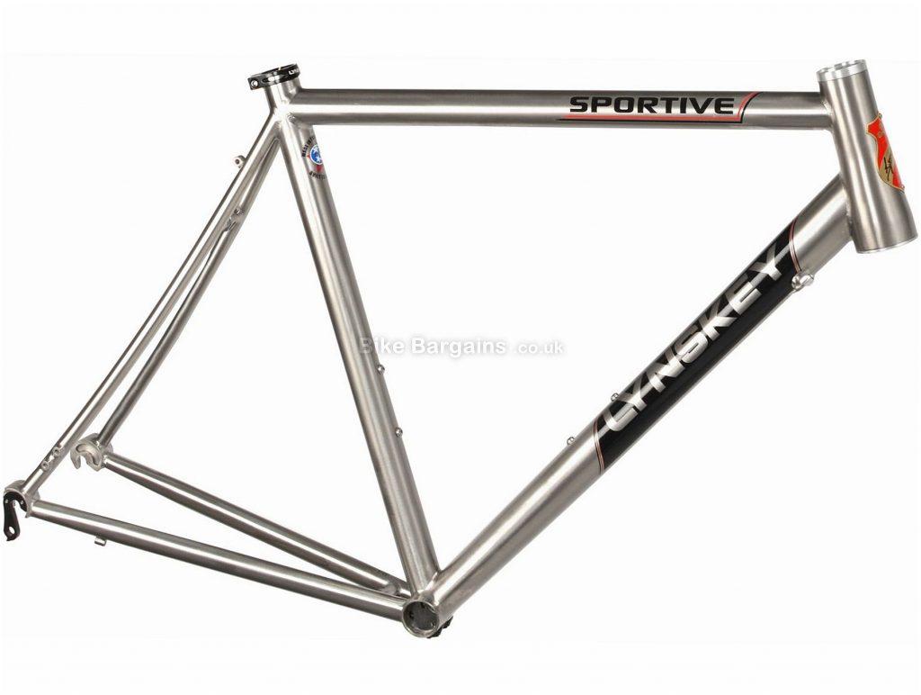 Lynskey Sportive Titanium Road Frame 2018 58cm, Silver, 700c, Titanium, Calipers