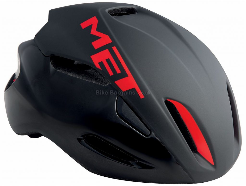 MET Manta Road Helmet 2018 S, White, Blue, 14 vents, 200g