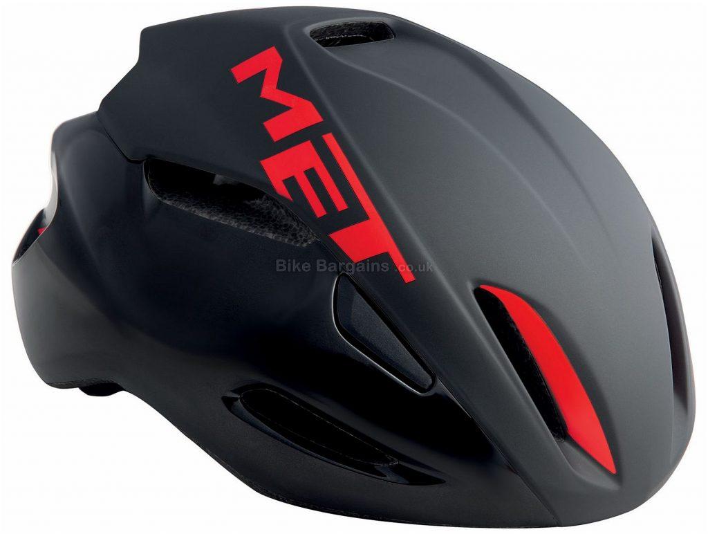 MET Manta Road Helmet 2018 S, White, Yellow, 14 vents, 200g