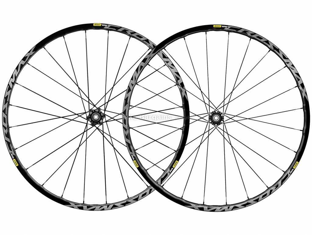 "Mavic Crossmax Elite 27.5"" Boost MTB Wheels 27.5"", Black, Alloy, SRAM, Disc, 1635g, 10 or 11 Speed"
