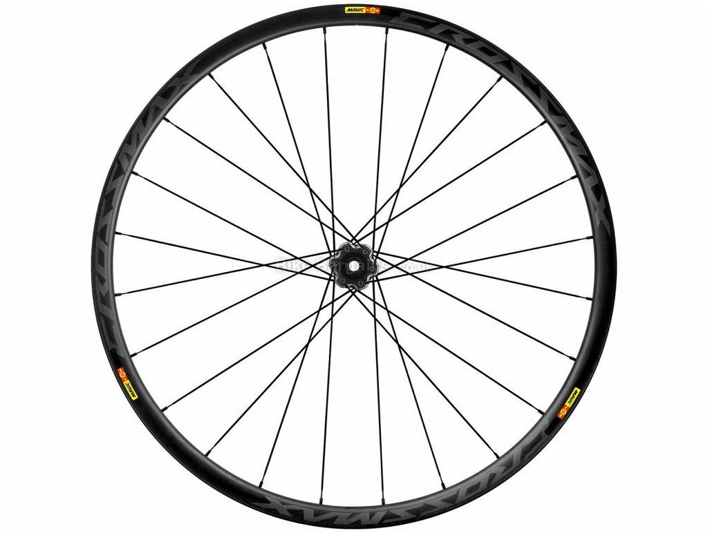 "Mavic Crossmax Pro Carbon Supermax Front Wheel 27.5"", Black, Grey, Carbon, Disc"