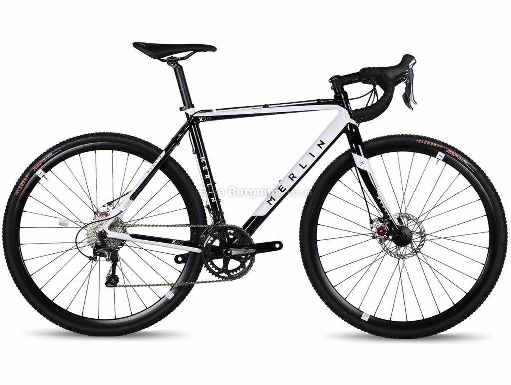 Merlin X2.0 Tiagra Alloy Cyclocross Bike 2018 L, Black, White, 20 speed, Alloy, Disc