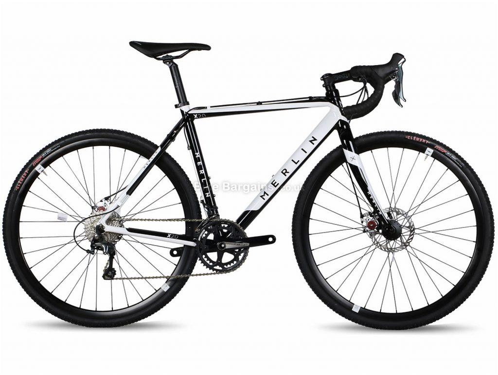 Merlin X2.0 Tiagra Alloy Cyclocross Bike 2018 XS,S,M,L,XL, Black, White, 20 speed, Alloy, Disc
