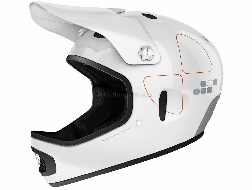 POC Cortex Flow Full Face MTB Helmet L,XL, Full Face, White, 7 vents, 1kg