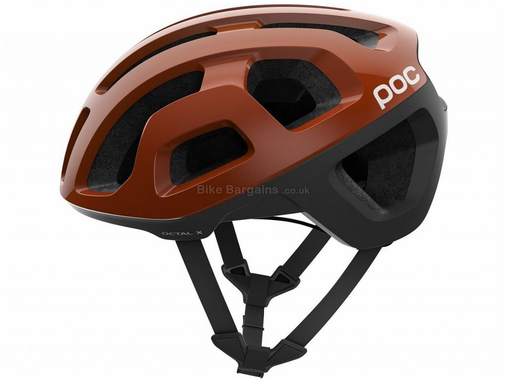 POC Octal X Road Helmet 2018 S, Brown, 21 vents, 210g