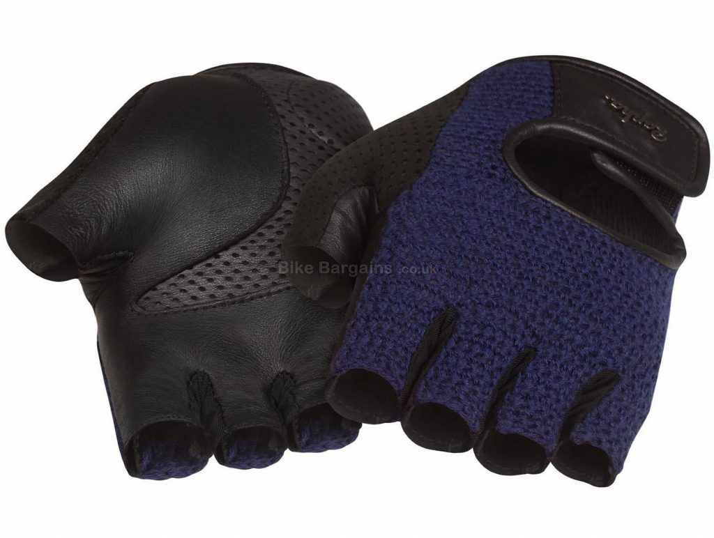 Rapha Classic Mitts XL, White - Black is extra