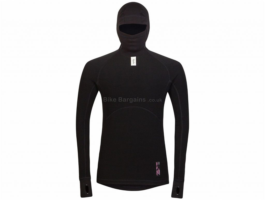 Rapha Deep Winter Long Sleeve Baselayer XXS, Black