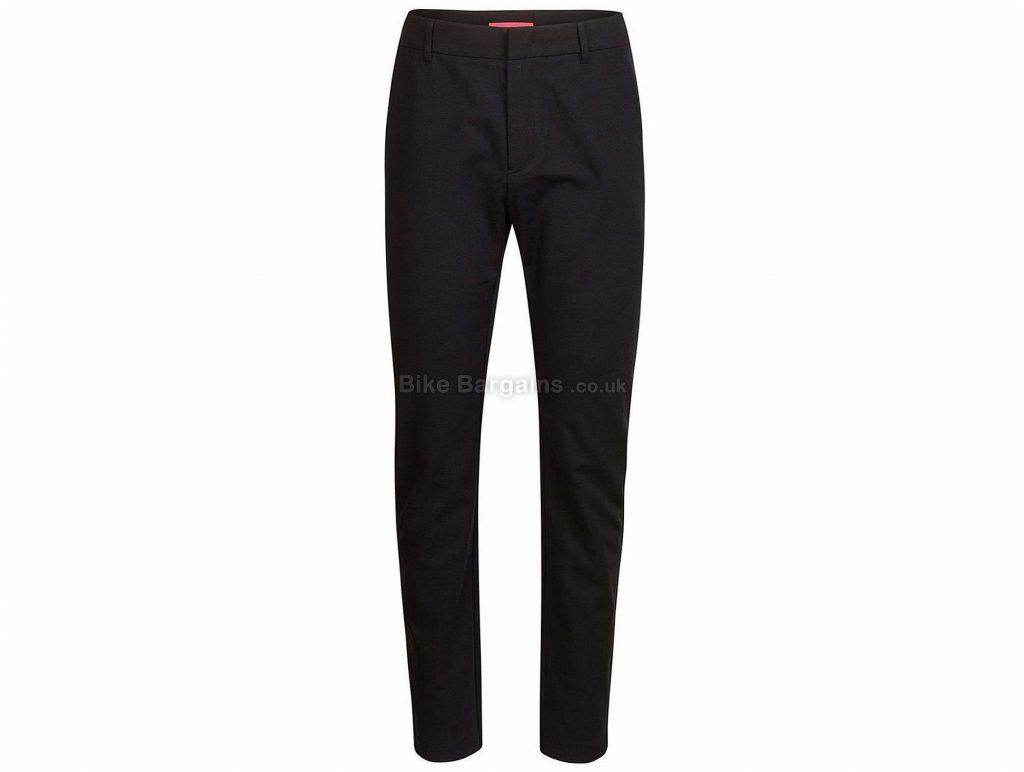 Rapha Double Weave Slim Fit Trousers 2016 XS,S, Black, Slim Fit, Cotton