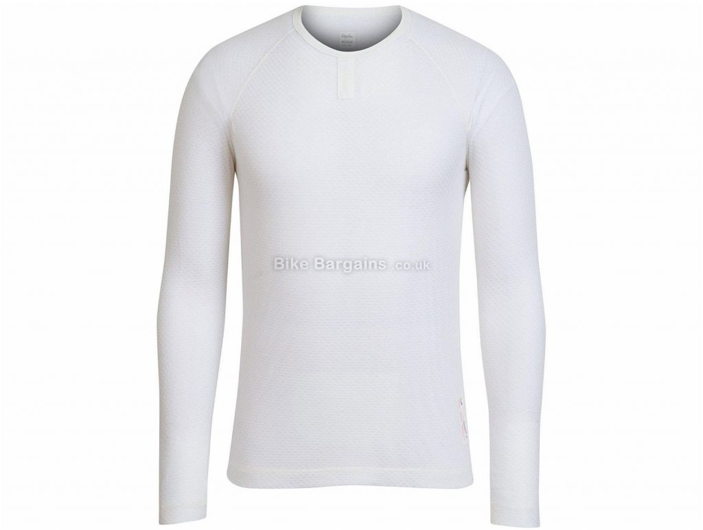 Rapha Merino Mesh Long Sleeve Baselayer XXS, White