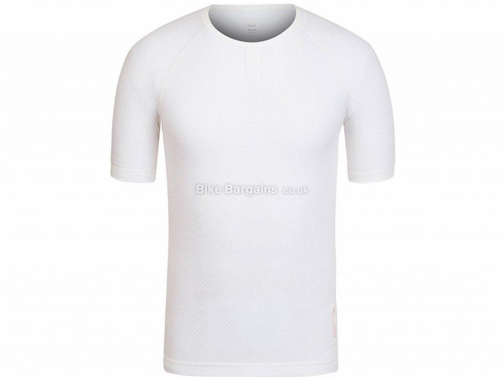 Rapha Merino Mesh Short Sleeve Baselayer XXS, White