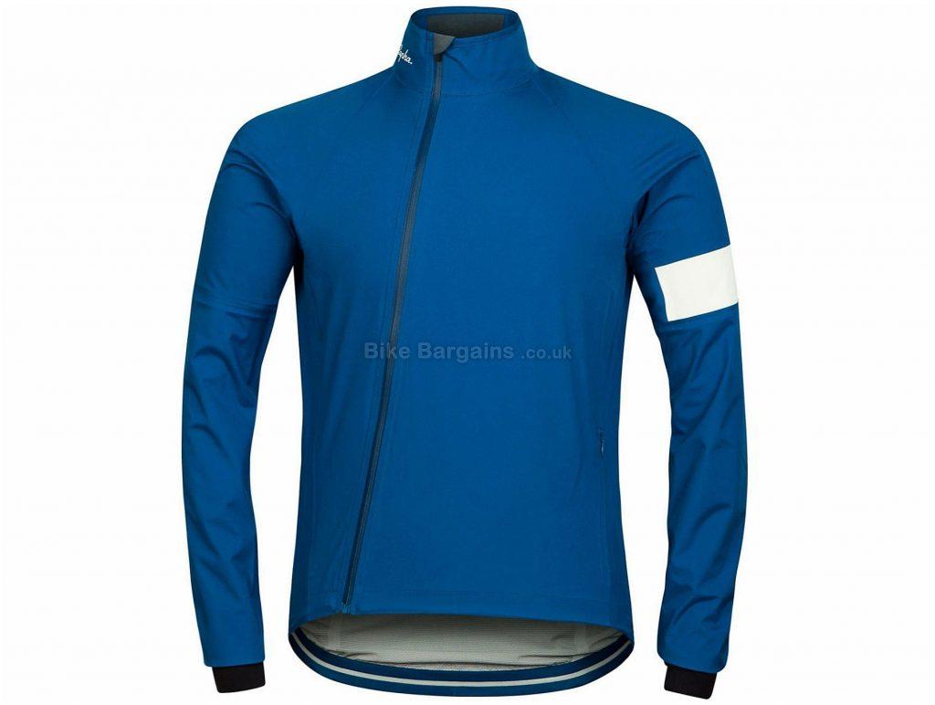 Rapha Rain Jacket 2013 XS, Blue, Long Sleeve