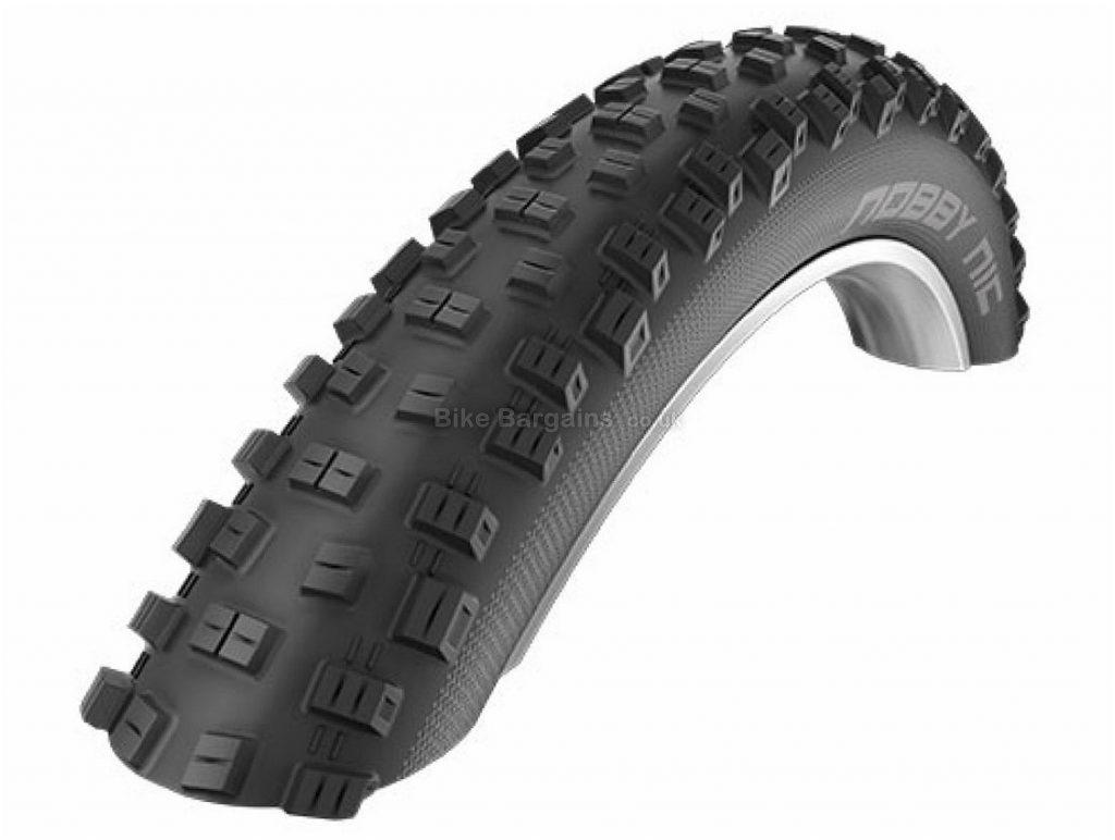 "Schwalbe Nobby Nic Snakeskin Folding MTB Tyre 27.5"", 3"", Black, 910g, Folding"