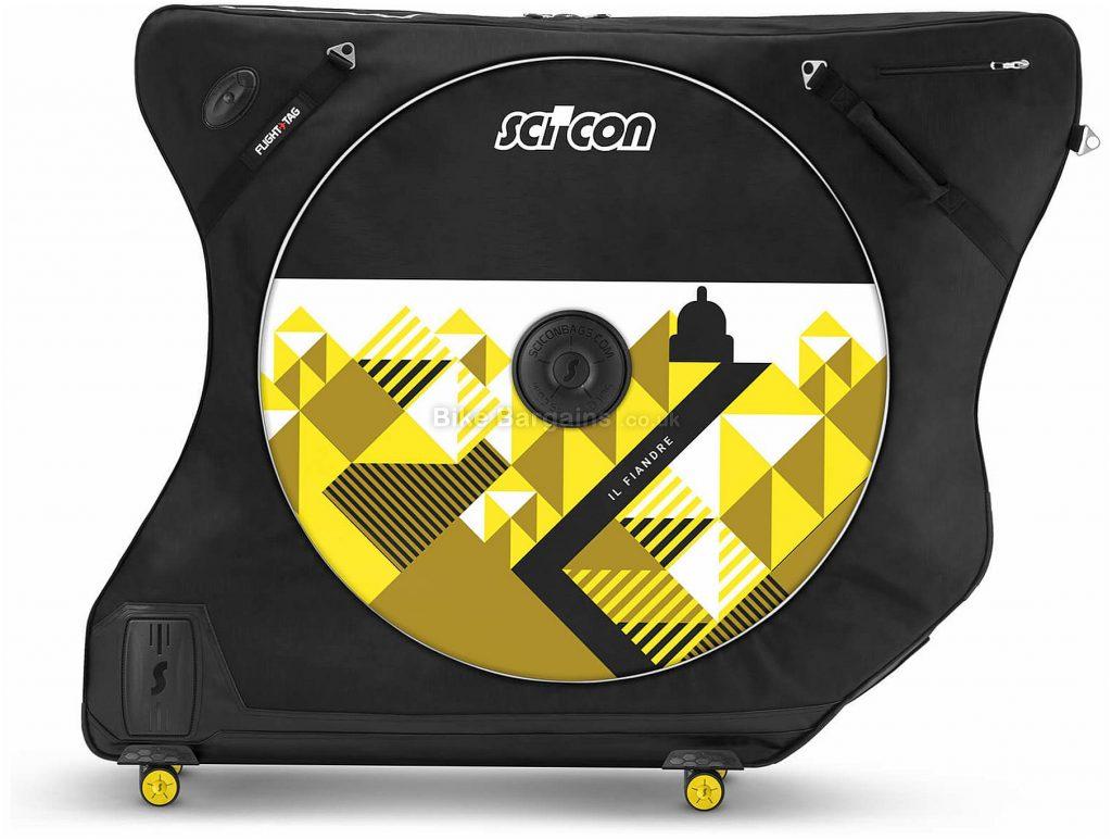 Scicon AeroComfort Road 3.0 TSA Bike Bag 2018 Black, 109cm, 103cm, 50cm, 8kg