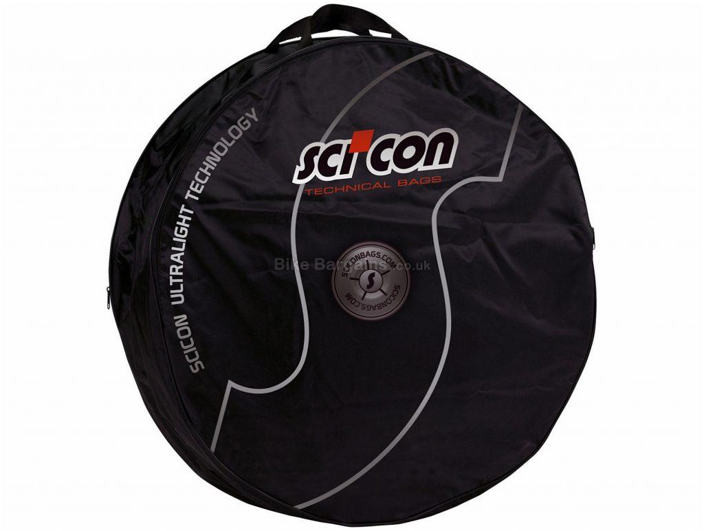 "Scicon Double Bike Wheel Bag 26"",27.5"",29"",700c, Black, 70cm, 20cm, 859g"
