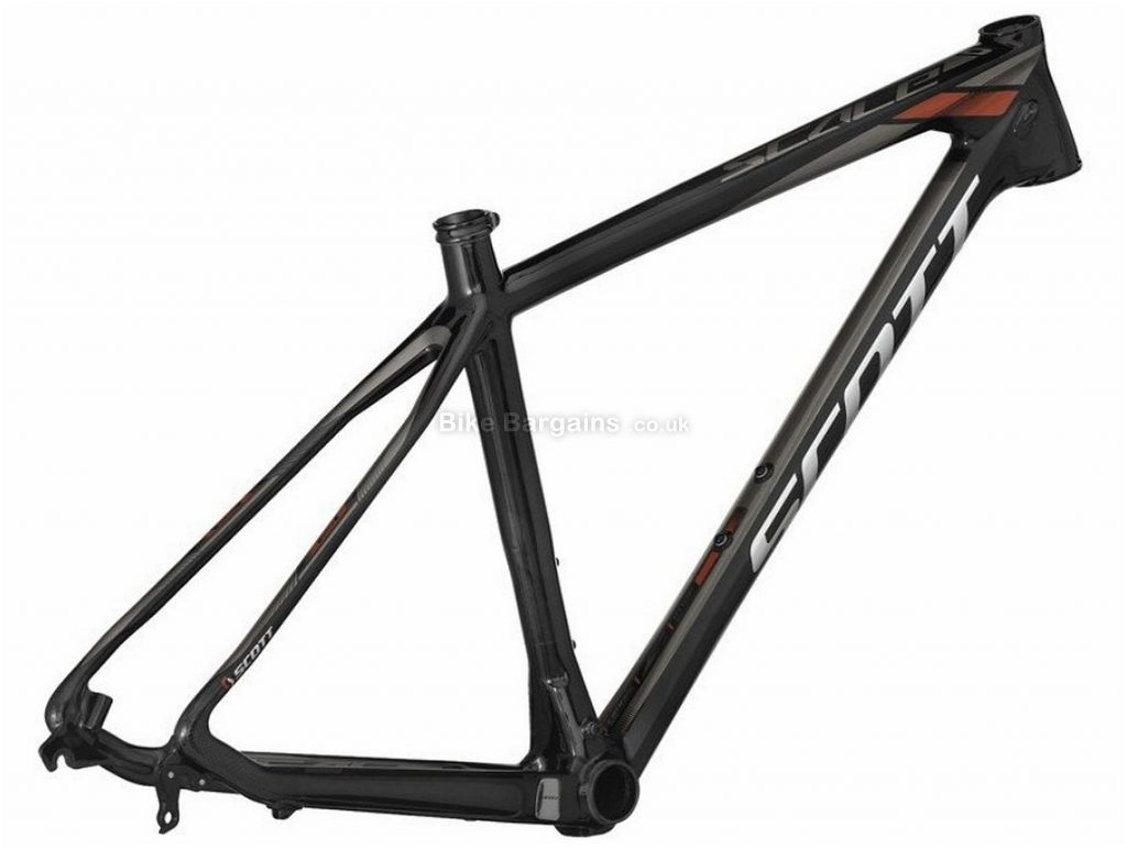 "Scott Scale 610 Carbon Hardtail MTB Frame 2014 XL, Black, Carbon, 26"", Disc, 1120g"