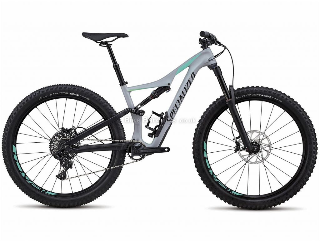 "Specialized Rhyme FSR Comp Carbon Full Suspension Mountain Bike 2018 XS,L, Grey, Black, Carbon, 29"", 11 Speed"