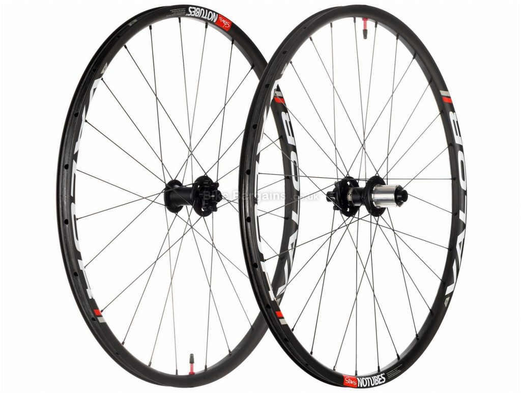"Stan's NoTubes Valor Pro MTB Wheels 27.5"", Black, Carbon, Shimano, Disc, 8,9,10 Speed, 1278g"
