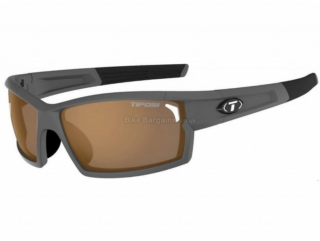 Tifosi Camrock Fototec Interchangeable Sunglasses One Size, Grey, Brown