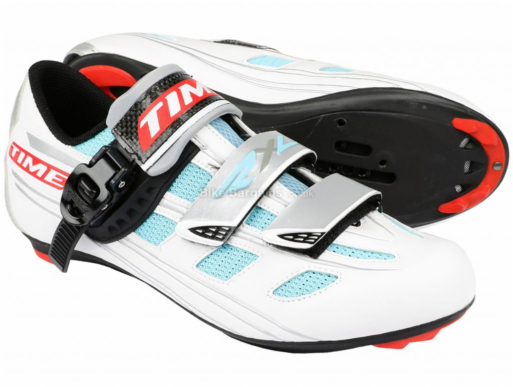 Time RXL SPD-SL Road Shoes 43, White, Blue, Red
