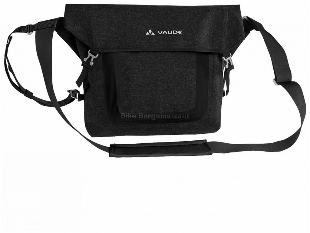 Vaude Ausberg II Medium Pannier Bag M, Black, 14 Litres
