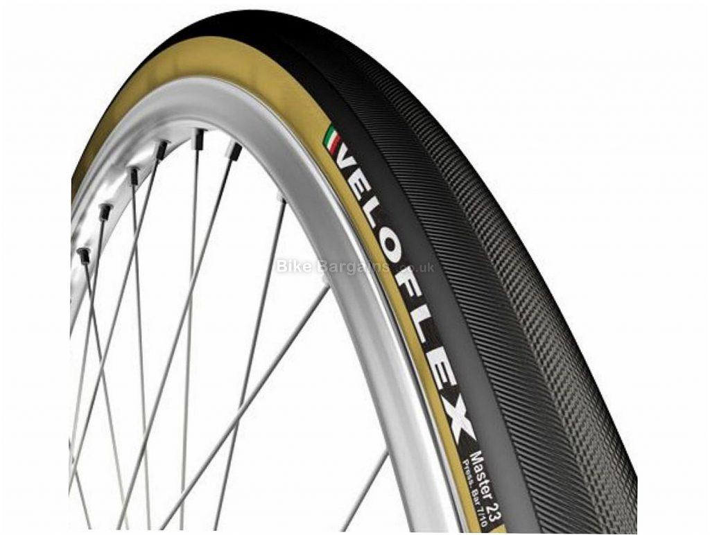 Veloflex Master Folding Road Tyre 700c, 20c, Blue, Red, Yellow, 195g, Folding