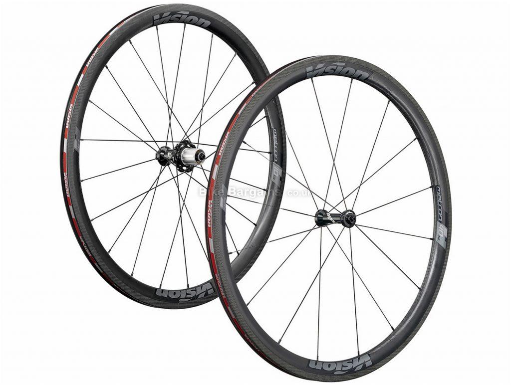 Vision Metron 40 SL Carbon Road Wheels 700c, Black, 11 speed, Carbon