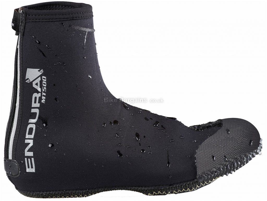 Endura MT500 MTB Overshoes S, Black, Zipped, Neoprene, Kevlar