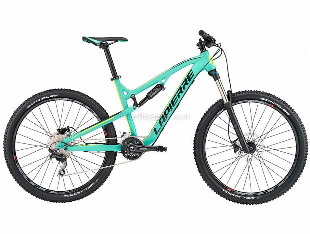 "Lapierre Edge AM 427 27.5"" Alloy Full Suspension Mountain Bike 2017 L, Turquoise, Alloy, Full Suspension, 27.5"", 20 Speed"