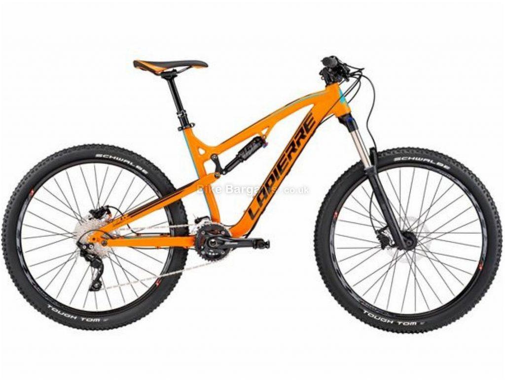 """Lapierre Edge AM 527 27.5"""" Alloy Full Suspension Mountain Bike 2017 L, Orange, Black, Alloy, Full Suspension, 27.5"""", 20 Speed"""