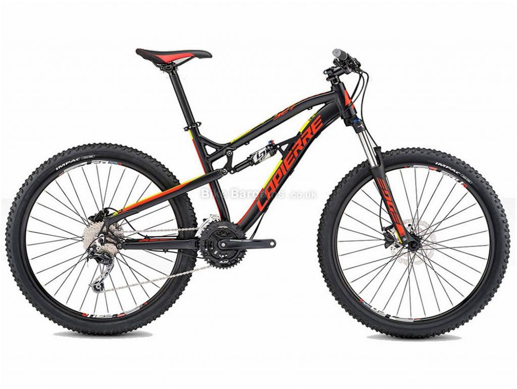 """Lapierre Edge XM 327 27.5"""" Alloy Full Suspension Mountain Bike 2017 L, Black, Red, Alloy, Full Suspension, 27.5"""", 18 Speed"""