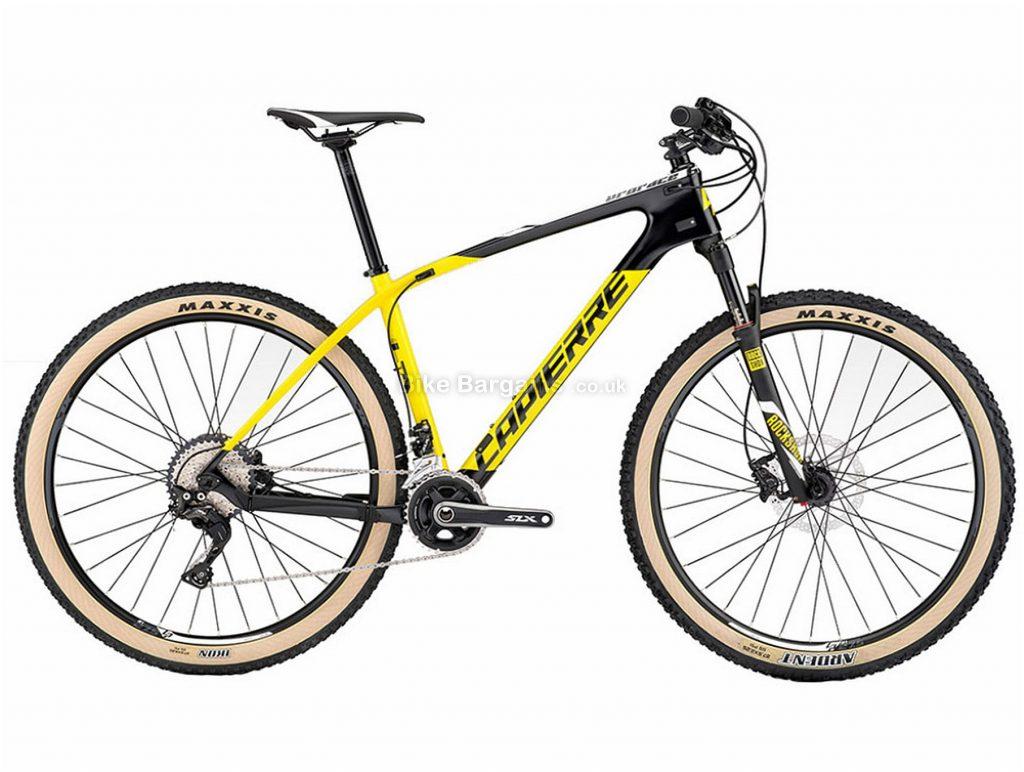 "Lapierre Prorace 627 27.5"" Carbon Hardtail Mountain Bike 2017 M, Black, Yellow, Carbon, Hardtail, 27.5"", 22 Speed"