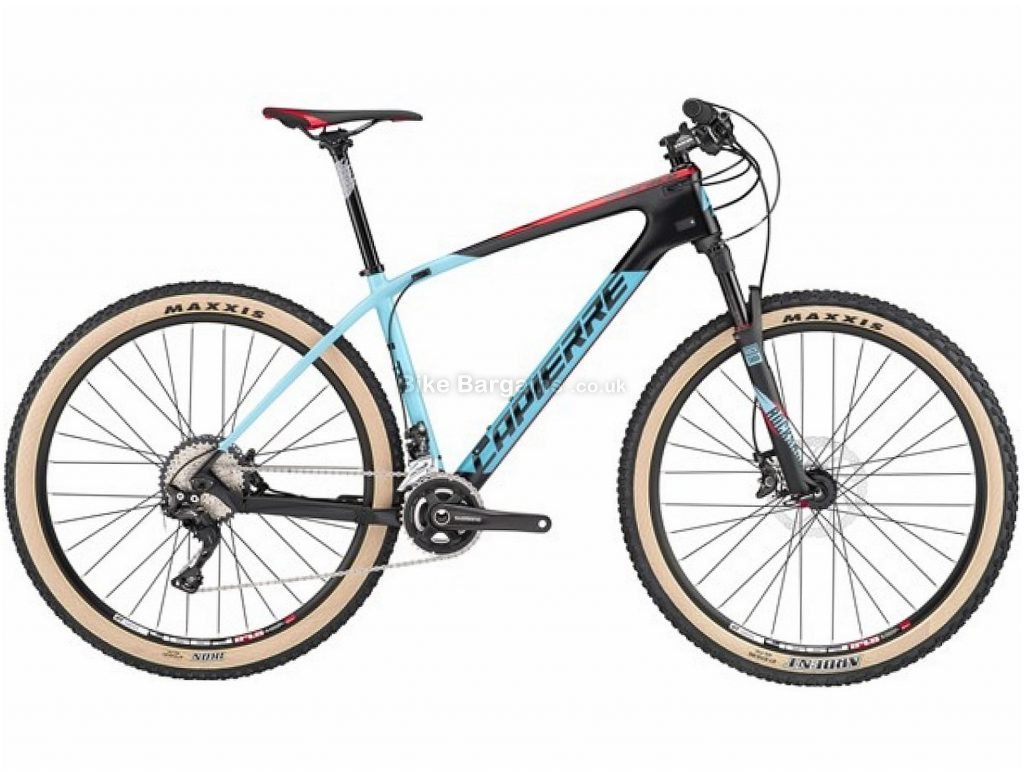 """Lapierre Prorace 727 27.5"""" Carbon Hardtail Mountain Bike 2017 S, Black, Blue, Carbon, Hardtail, 27.5"""", 22 Speed"""