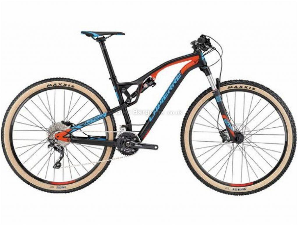 """Lapierre XR 529 29"""" Carbon Full Suspension Mountain Bike 2017 L, Black, Red, Blue, Carbon, Full Suspension, 29"""", 20 Speed"""