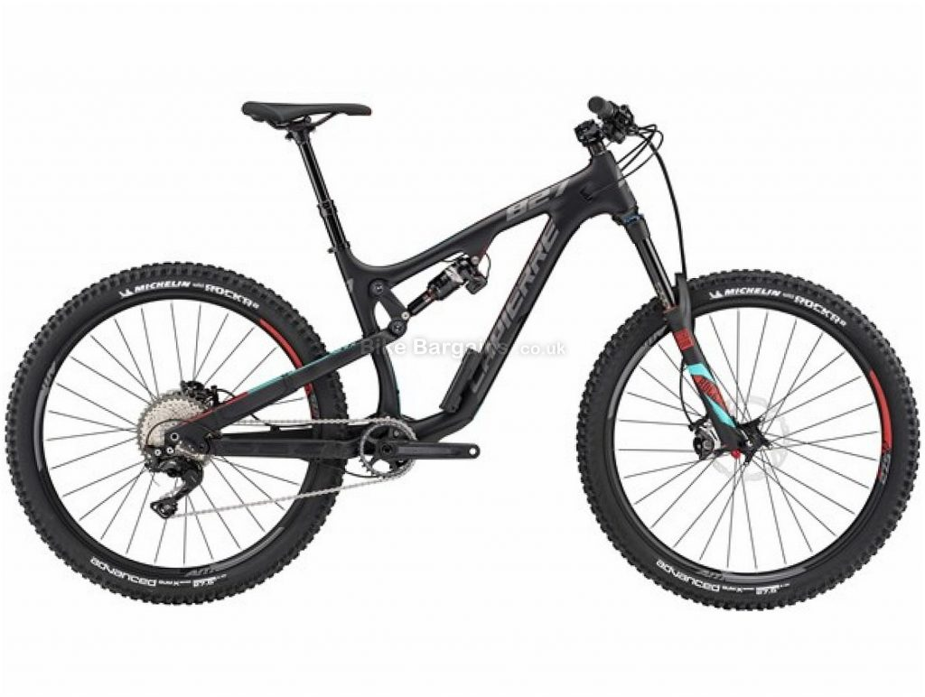 "Lapierre Zesty AM 827 27.5"" Carbon Full Suspension Mountain Bike 2017 L, Black, Carbon, Full Suspension, 27.5"", 11 Speed"